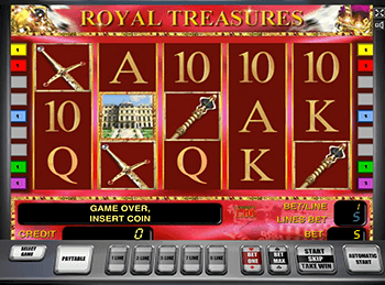 Автоматы Royal Treasures